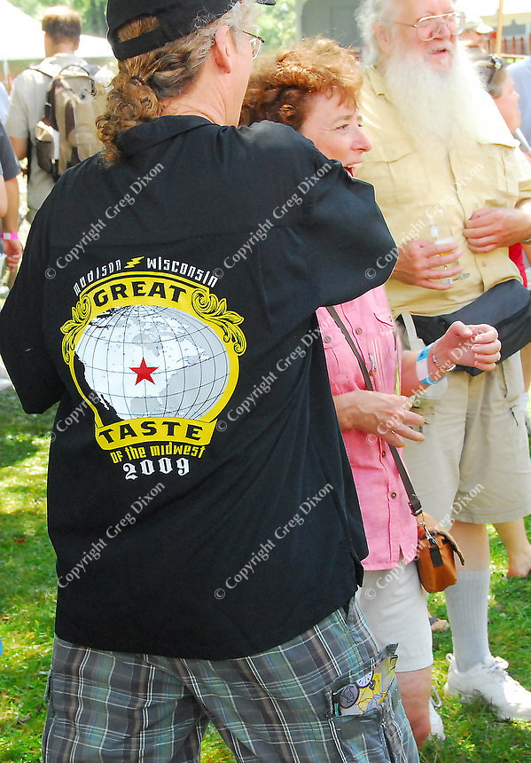 The T-Shirt from the 2009 Great Taste of the Midwest Beer Festival at Olin-Turville Park