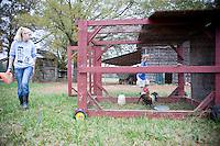 The Parker family farm in Hillsborough, NC