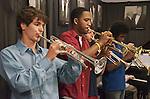 Jazz House Kids Big Band performs in studio at WBGO Jazz Radio 88.3