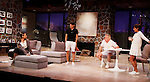 """As The World Turns' Colleen Zenk stars along with the cast - Brenda Withers, Davy Raphaely and Malachy Cleary in """"Other Desert Cities"""" at the tech rehearsal (in costume) on October 14, 2015 atr Whippoorwill Halll Thetre, North Castle Library, Kent Place, Armonk, New York.  (Photo by Sue Coflin/Max Photos)"""