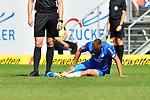 11.08.2018, Wirsol-Rhein-Neckar-Arena, Sinsheim, GER, Testspiel, TSG 1899 Hoffenheim vs SD Eibar, <br /> <br /> DFL REGULATIONS PROHIBIT ANY USE OF PHOTOGRAPHS AS IMAGE SEQUENCES AND/OR QUASI-VIDEO.<br /> <br /> im Bild: Verletzung bei Pavel Kaderabek (TSG Hoffenheim #3)<br /> <br /> Foto © nordphoto / Fabisch