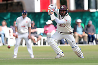 Kumar Sangakkara hits four runs for Surrey during Surrey CCC vs Essex CCC, Specsavers County Championship Division 1 Cricket at Guildford CC, The Sports Ground on 11th June 2017