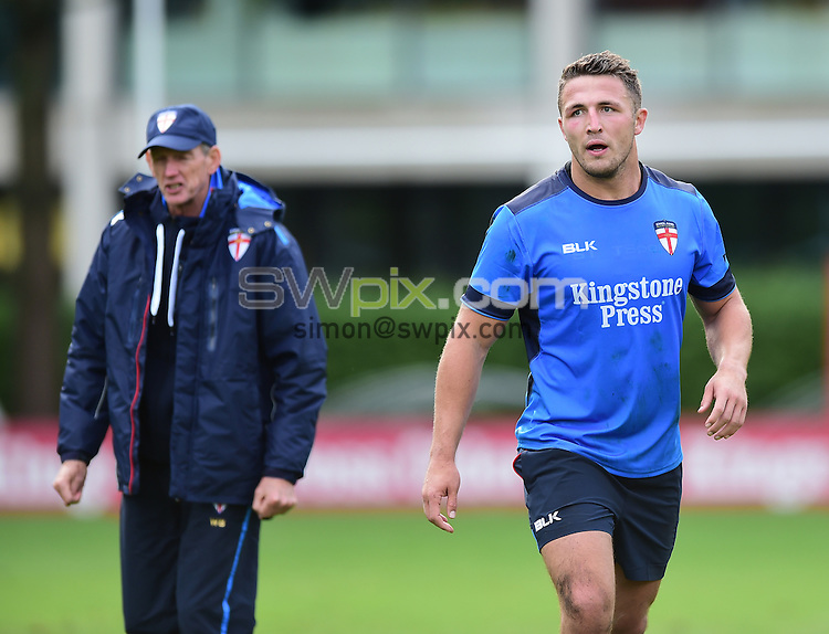 Picture by Alex Broadway/SWpix.com - 16/10/2016 - Rugby League - England Rugby League Training Session - HAC, London, United Kingdom - Sam Burgess of England.