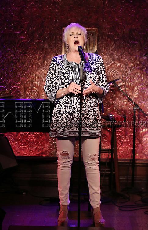 Lorna Luft previews her new show 'Lorna Luft celebrates Pride Week' at Feinsteins/54 Below on June 21, 2016 in New York City.