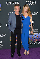 "LOS ANGELES, USA. April 22, 2019: Frankie Valli & Jacqueline Jacobs at the world premiere of Marvel Studios' ""Avengers: Endgame"".<br /> Picture: Paul Smith/Featureflash"