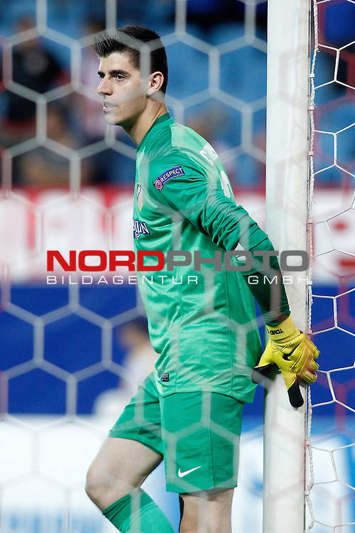 Atletico de Madrid's Thibaut Courtois during Champions League 2013/2014 match.September 18,2013. Foto © nph / Acero)
