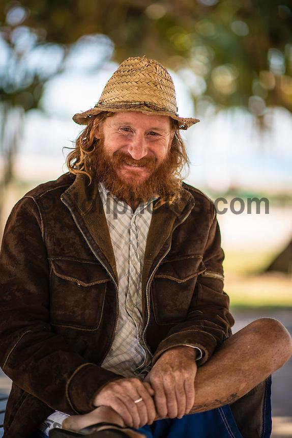Coolangatta, Queensland Australia. (Friday July 4, 2014) –  90's surfing legend Shane Herring (AUS). Photo: joliphotos.com