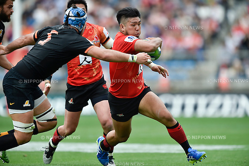 Shota Horie (Sunwolves), April 23, 2016 - Rugby : Super Rugby match between Sunwolves 38-26 Jaguares at Prince Chichibu Memorial Stadium in Tokyo, Japan. (Photo by Yuka Shiga/AFLO)