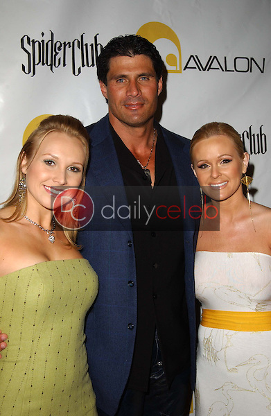 Alana Curry with Jose Canseco and Katie Lohmann<br />at the Larpy Awards. Avalon, Hollywood, CA. 04-30-06<br />Dave Edwards/DailyCeleb.com 818-249-4998