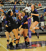 Har-Ber at Fayetteville Volleyball 10/6/15