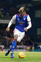 Trevoh Chlobah of Ipswich Town in action during Ipswich Town vs Rotherham United, Sky Bet EFL Championship Football at Portman Road on 12th January 2019
