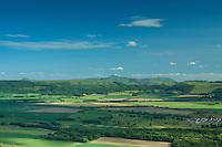 The Lomond Hills from Moredun Hill Fort, Moncrieffe Hill, Perth, Perthshire