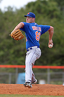 New York Mets pitcher Zack Wheeler #81 delivers a pitch during a minor league spring training intrasquad game at the Port St. Lucie Training Complex on March 27, 2012 in Port St. Lucie, Florida. (Mike Janes/Four Seam Images)