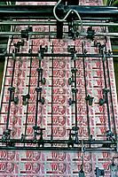 Impressão de dinheiro na Casa da Moeda. RJ. 1998. Foto de Ricardo Azoury.