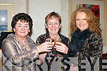 LAUGH: Catherine O'Sullivan, Knocknagree, Eileen O'Riordan, Glenflesk and Catriona Dennehy, Beaufort having a laugh at the Diamonds and Divas Fashion Show in the Muckross Park Hotel, Killarney on Saturday.   Copyright Kerry's Eye 2008