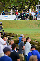 Jon Rahm (ESP) watches his tee shot on 1 during round 6 of the World Golf Championships, Dell Technologies Match Play, Austin Country Club, Austin, Texas, USA. 3/26/2017.<br /> Picture: Golffile | Ken Murray<br /> <br /> <br /> All photo usage must carry mandatory copyright credit (&copy; Golffile | Ken Murray)