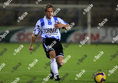 2010-09-18 / Voetbal / seizoen 2010-2011 / Geel-Meerhout / Glenn Boeckmans..Foto: Mpics