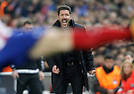 Atletico de Madrid's coach Diego Pablo Simeone during UEFA Champions League match. March 15,2016. (ALTERPHOTOS/Acero)