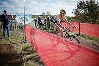 Nikki Harris (GBR/Telenet-Fidea)<br /> <br /> GP Zonhoven 2014