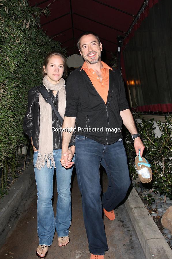 AbilityFilms@yahoo.com  805-427-3519.www.AbilityFilms.com.5-3-08 Robert Downey Jr leaving nobu restaurant in malibu