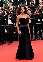 "CANNES, FRANCE. May 15, 2019: Tina Kunakey di Vita at the gala premiere for ""Les Miserables"" at the Festival de Cannes.<br /> Picture: Paul Smith / Featureflash"