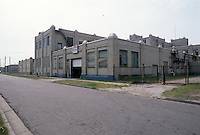 1990 June ..Conservation.MidTown Industrial..LOOKING WEST ON 23RD STREET.BETWEEN FAWN & GAZEL STREET...NEG#.NRHA#..