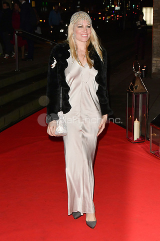 American actress Meredith Ostrom attends DKMS Big Love Gala at the Round House in London.<br /> <br /> NOVEMBER 7th 2018. Credit: Matrix/MediaPunch ***FOR USA ONLY***<br /> <br /> REF: SLI 184095