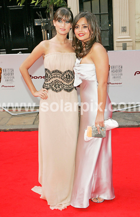 **ALL ROUND PICTURES FROM SOLARPIX.COM**.**WORLDWIDE SYNDICATION RIGHTS**.2007 TV Bafta Awards held at the London Palladium and hosted by Graham Norton on 20.05.07.  This pic: Charley Webb and Jenna-Louise Coleman..JOB REF:   3965      RSR        DATE: 20.05.07.**MUST CREDIT SOLARPIX.COM OR DOUBLE FEE WILL BE CHARGED* *UNDER NO CIRCUMSTANCES IS THIS IMAGE TO BE REPRODUCED FOR ANY ONLINE EDITION WITHOUT PRIOR PERMISSION*
