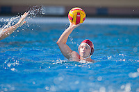 STANFORD, CA - October 9, 2010: during a water polo game against USC in Stanford, California. Stanford beat USC 5-3.
