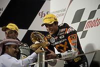 Monlau Team 2012 during the Doha GP in Losail circuit