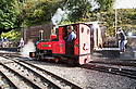 16/09/18<br /> <br /> Miniature steam engines gather for this weekend's Rudyard Lake Steam Railway's annual Steam Gala at the Staffordshire heritage railway line where tiny steam engines run on a 10.25 inch gauge track which is equivalent to half size Narrow Gauge. <br /> <br /> All Rights Reserved, F Stop Press Ltd. (0)1335 344240 +44 (0)7765 242650  www.fstoppress.com rod@fstoppress.com