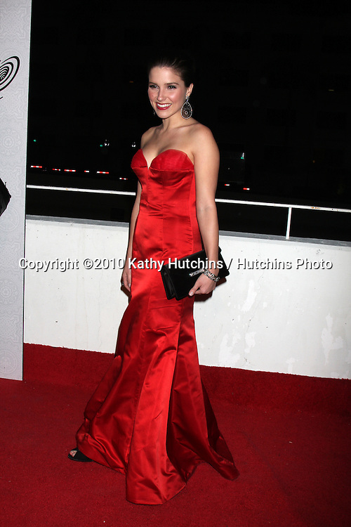 Sophia Bush.arriving at the 3rd Annual Art of Elysium Gala.Rooftop of Parking Garage across from Beverly Hilton Hotel.Beverly Hills, CA.January 16, 2010.©2010 Kathy Hutchins / Hutchins Photo....