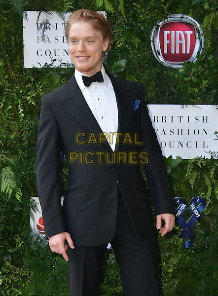 Freddie Fox at Charity ball in aid of One For The Boys, a charity raising awareness of male forms of cancer, encouraging men to get checked regularly. Evening celebrates the launch of the 2016 campaign film The Difference, at Victoria and Albert Museum, London, England June 12, 2016.<br /> CAP/JOR<br /> &copy;JOR/Capital Pictures