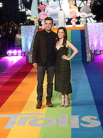 Justin Timberlake and Anna Kendrick at the Trolls 3D Light up The London Eye to promote the release of the new animated film. London Eye, Jubilee Gardens, London on September 29th 2016<br /> CAP/ROS<br /> &copy;Steve Ross/Capital Pictures /MediaPunch ***NORTH AND SOUTH AMERICAS ONLY***