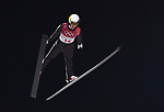 Andreas Alamommo (FIN). Mens normal hill individual. Qualification. Ski jumping. Alpensia ski jump centre. Pyeongchang2018 winter Olympics. Alpensia. Pyeongchang. Republic of Korea. 08/02/2018. ~ MANDATORY CREDIT Garry Bowden/SIPPA - NO UNAUTHORISED USE - +44 7837 394578