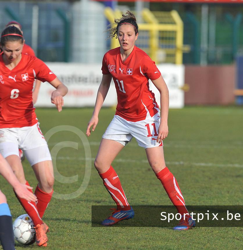 UEFA Women's Under 17 Championship - Second Qualifying round - group 1 : England - Switzerland : .Sabrina Ribeaud.foto DAVID CATRY / Vrouwenteam.be