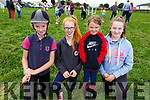 Enjoying the Killorglin horse and pony show on Sunday. .<br /> Front l-r, Nicola Kerins, Orna Cornally, Grace Collins and Libby Daly.