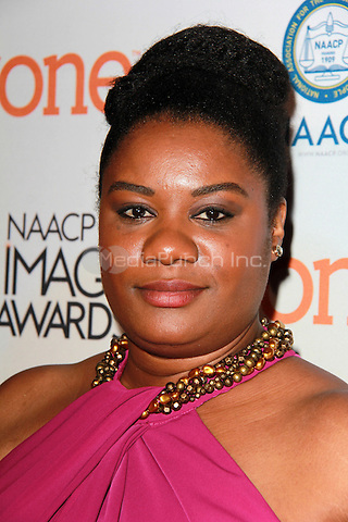 PASADENA, CA - FEBRUARY 5: Adrienne C. Moore at the 46th NAACP Image Awards Non-Televised Ceremony at the Pasadena Convention Center in Pasadena, California on February 5, 2015. Credit: David Edwards/Dailyceleb/MediaPunch