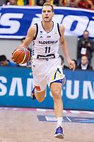 Slovenia Jaka Blazic during FIBA European Qualifiers to World Cup 2019 between Spain and Slovenia at Coliseum Burgos in Madrid, Spain. November 26, 2017. (ALTERPHOTOS/Borja B.Hojas) /NortePhoto NORTEPHOTOMEXICO