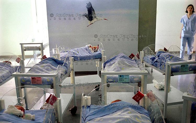 Milano, ospedale Niguarda, nursery Milan, Niguarda hospital, nursery