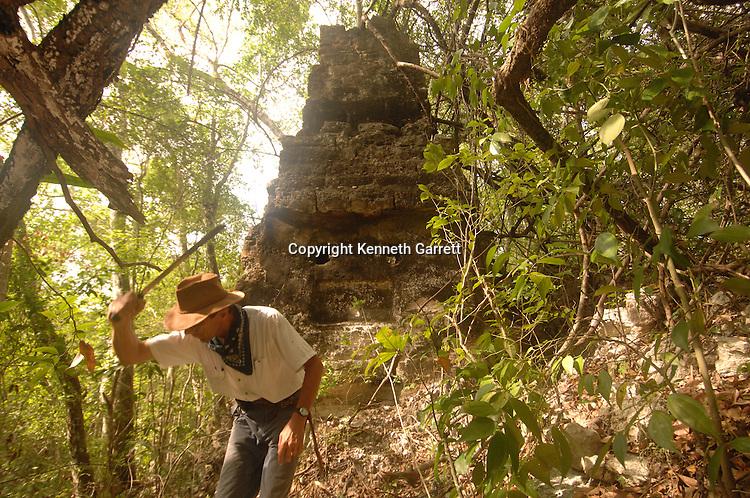 7319 Oxpemul; Maya; Ancient Cultures; Mayan; Mexico; Maya Biosphere Reserve; Ivan Sprajc; CRE Grantee; Uxul
