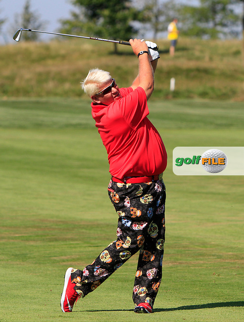 John Daly (USA) during Round 2 of the D&amp;D Real Czech Masters 2016 at the Albatross Golf Club, Prague on Friday 19th August 2016.<br />