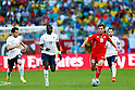 Moussa Sissoko (FRA), Admir Mehmedi (SUI), JUNE 20, 2014 - Football /Soccer : FIFA World Cup Brazil 2014 Group E match between Switzerland 2-5 France at Arena Fonte Nova, Salvador, Brazil. (Photo by D.Nakashima/AFLO)