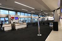 MAR 31 US Airports Empty During Coronavirus Pandemic
