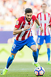 Yannick Ferreira Carrasco of Atletico de Madrid in action during their La Liga match between Atletico de Madrid and Sevilla FC at the Estadio Vicente Calderon on 19 March 2017 in Madrid, Spain. Photo by Diego Gonzalez Souto / Power Sport Images