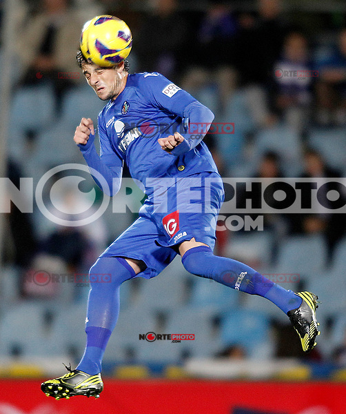 Getafe's Michel during La Liga match.November 18,2012. (ALTERPHOTOS/Acero) NortePhoto