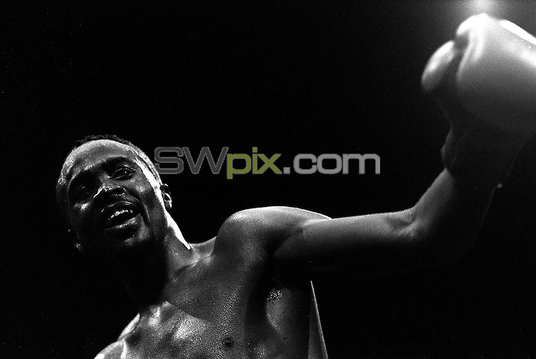 Pix:Michael Steele/SWpix...Boxing. Colin McMillan, London, 1991...COPYRIGHT PICTURE>>SIMON WILKINSON..Boxer Collin McMillan.