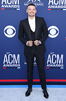 07 April 2019 - Las Vegas, NV - Kane Brown. 54th Annual ACM Awards Arrivals at MGM Grand Garden Arena. Photo Credit: MJT/AdMedia<br /> CAP/ADM/MJT<br /> &copy; MJT/ADM/Capital Pictures