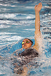 19 February 2016: Notre Dame's Paige Kaplan competes in the 400 Individual Medley preliminary heat 3. The 2016 Atlantic Coast Conference Swimming and Diving Championships were held at the Greensboro Aquatic Center in Greensboro, North Carolina from February 17-27, 2016.