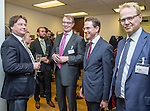 BRUSSELS - BELGIUM - 28 November 2016 -- Inauguration of the Nordic Energy Office. --  (f. right) Anders Stouge, Dansk Energi; Jyrki Katainen, Vice-president of the European Commission, responsible for Jobs, Growth, Investment and Competitiveness; Jukka Leskelä (Leskela, Leskelae), Finnish Energy; Kari Aalto, Director of the East and North Finland EU Office. -- PHOTO: Juha ROININEN / EUP-IMAGES
